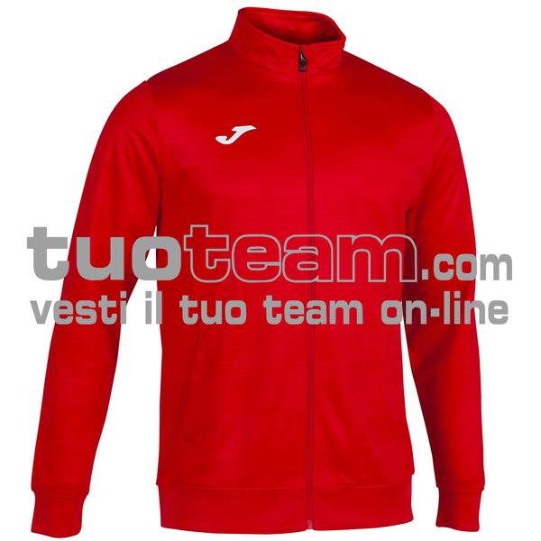 101369 - GRAFITY GIACCA FULL ZIP 100% polyester interlock - 600 ROSSO