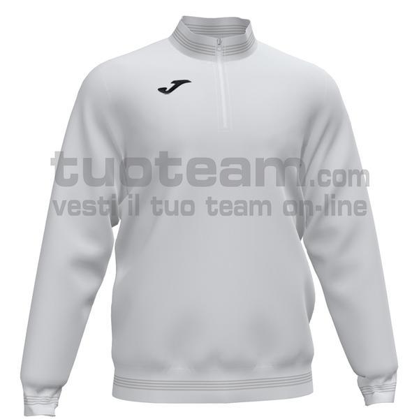 101589 - CAMPUS III FELPA 1/2 ZIP 100% polyester fleece - 200 BIANCO