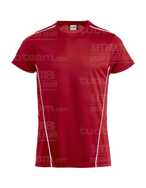 029336 - T-SHIRT Ice Sport-T - 3500 rosso/bianco