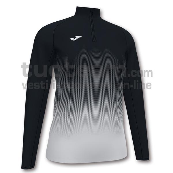 901031 - ELITE VII WOMAN FELPA 90% polyester 10% fleece elastane - 102 NERO/BIANCO