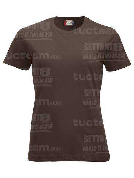 029361 - T-SHIRT New Classic T Lady - 825 marrone moka