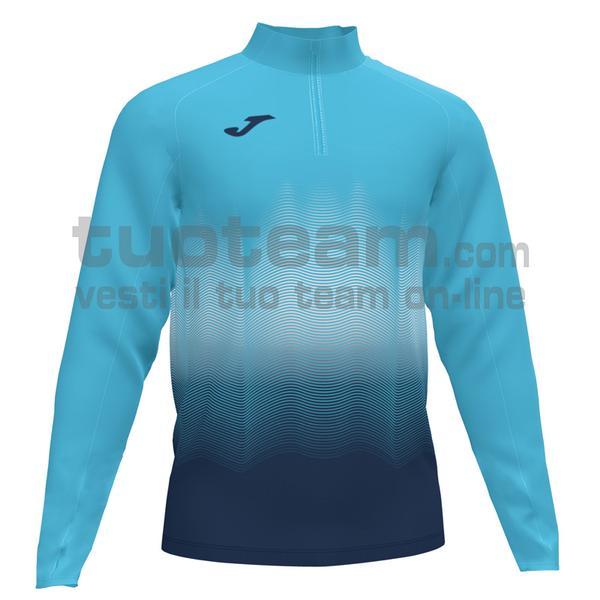 101541 - ELITE VII FELPA 90% polyester 10% fleece elastane - 013 TURCHESE FLUO