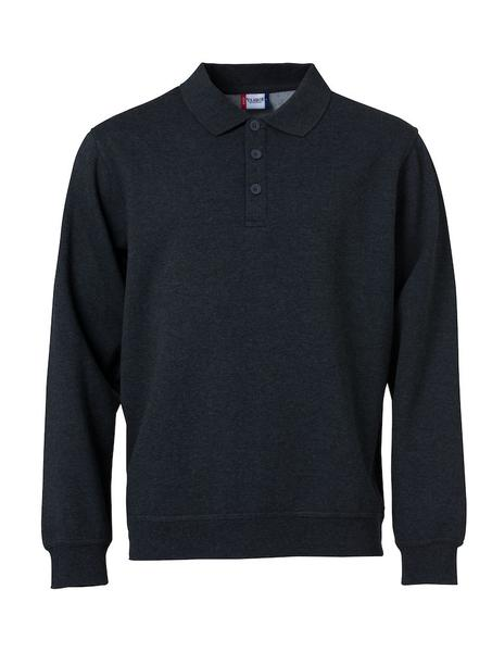 021032 - Basic Polo Sweater - 580 blu