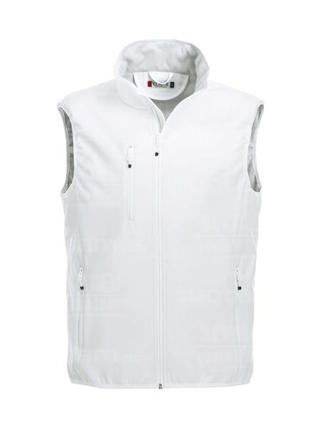 020911 - GILET Basic Softshell Vest Men - 00 bianco