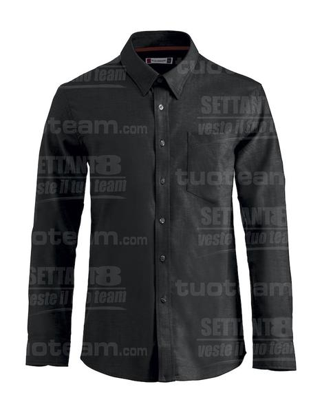 027311 - CAMICIA New Oxford - 99 nero