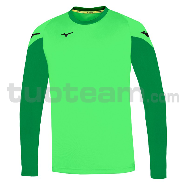 P2EA7A20 - Trad L / sleeve gkeeper shirt - green fluo