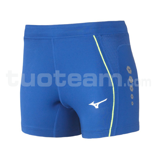 U2EB7202 - Premium JPN Short Tight - Royal/White