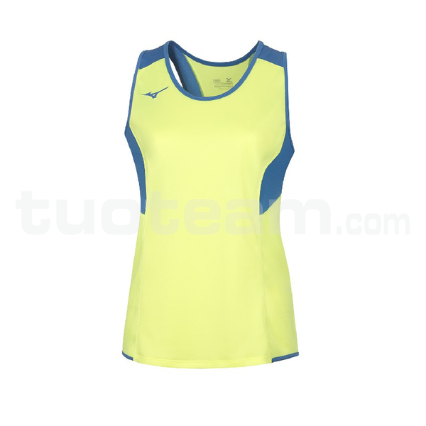U2EA7301 - Authentic Singlet - Yellow Fluo/Royal