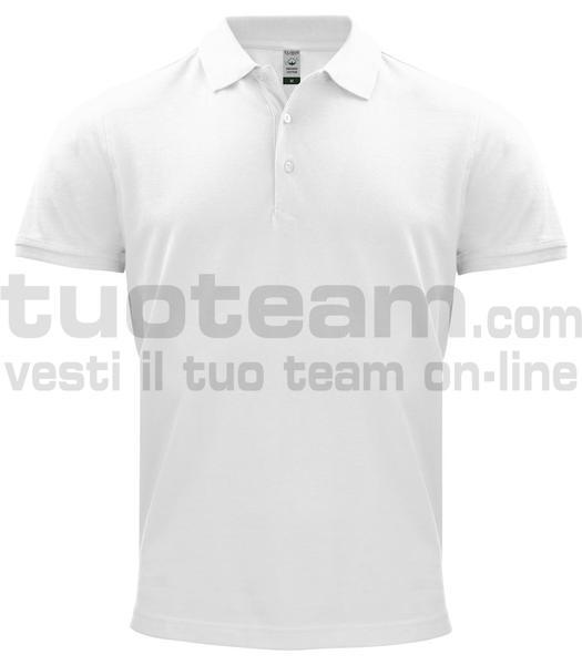 028264 - Organic Cotton Polo - 00 bianco