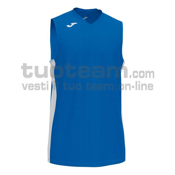 101573 - CANCHA III CANOTTA 100% polyester interlock - 702 ROYAL / BIANCO