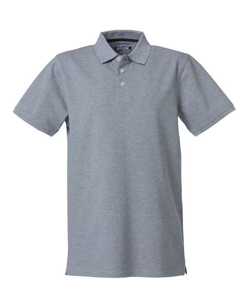 028260 - Heavy Premium Polo - 95 grigio melange