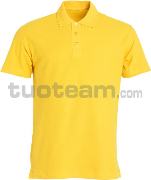 028230 - polo basic - 10 giallo limone