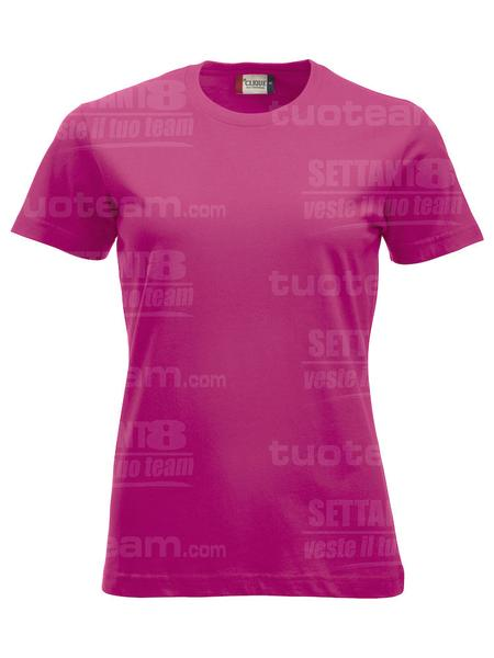 029361 - T-SHIRT New Classic T Lady - 300 lampone