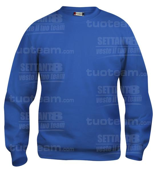 021020 - FELPA Basic Roundneck Junior - 55 royal