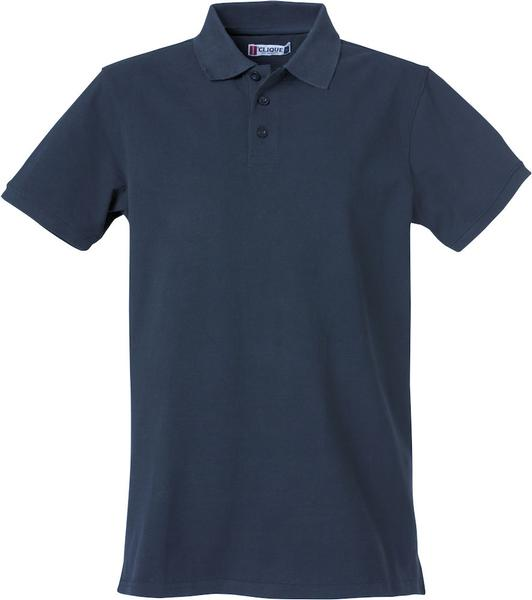 028260 - Heavy Premium Polo - 580 blu navy