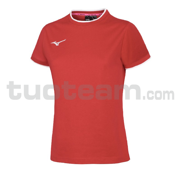 32EA7240 - tee t-shirt W - Red/Red