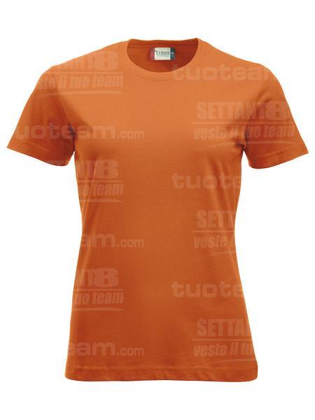 029361 - T-SHIRT New Classic T Lady - 18 arancione