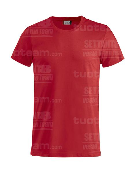 029030 - Basic-T T-SHIRT - 35 rosso