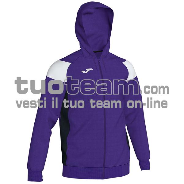 101271 - CREW III FELPA FULL ZIP 100% polyester fleece - 552 VIOLA / BIANCO