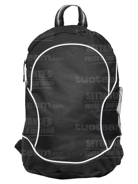 040161 - ZAINO Basic Backpack - 99 nero