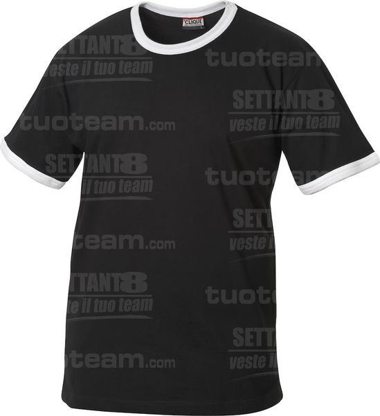 029304 - T-SHIRT Nome Kids - 9900 nero/bianco