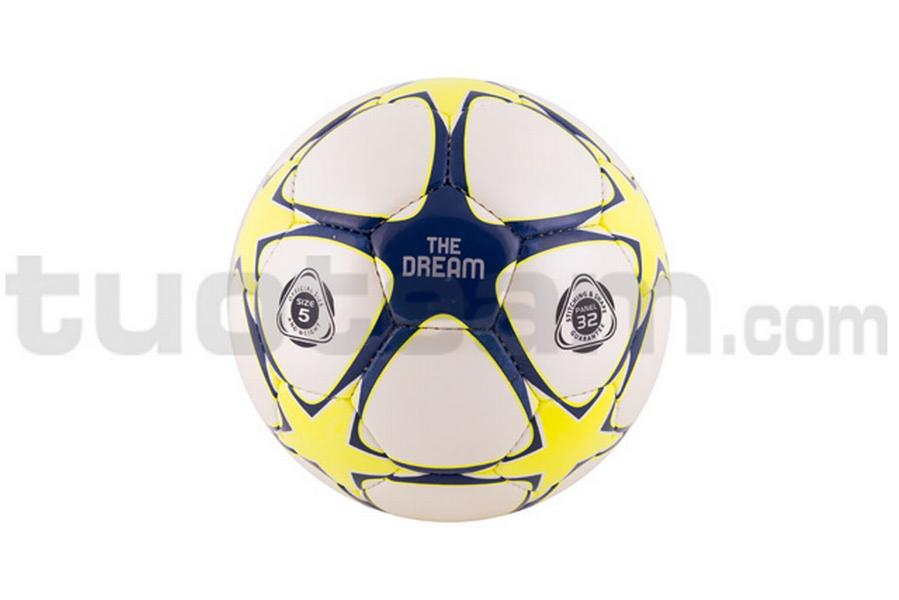 780201 - PALLONE THE DREAM '18 - giallo fluo / blu navy