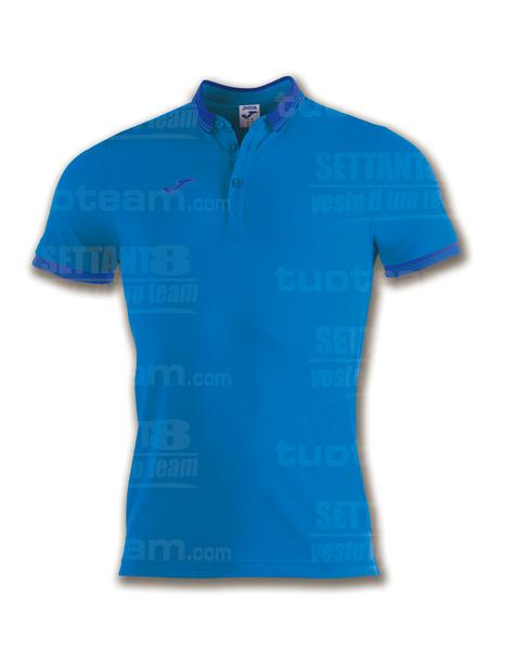100748 - BALI II POLO 65% polyester 35% cotton - BLU ROYAL