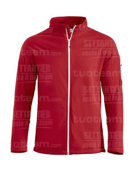 021055 - FELPA Ducan - 35 rosso
