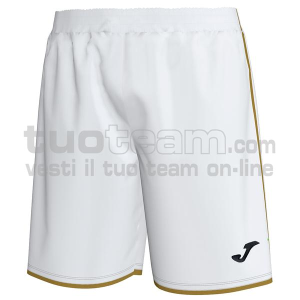 101302 - LIGA GOLD SHORT 100% polyester interlock - 200 BIANCO