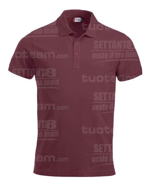 028244 - POLO New Classic Lincoln S/S - 38 bordeaux