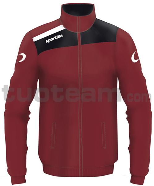 7245 - giacca NEST - BORDEAUX / NERO / BIANCO