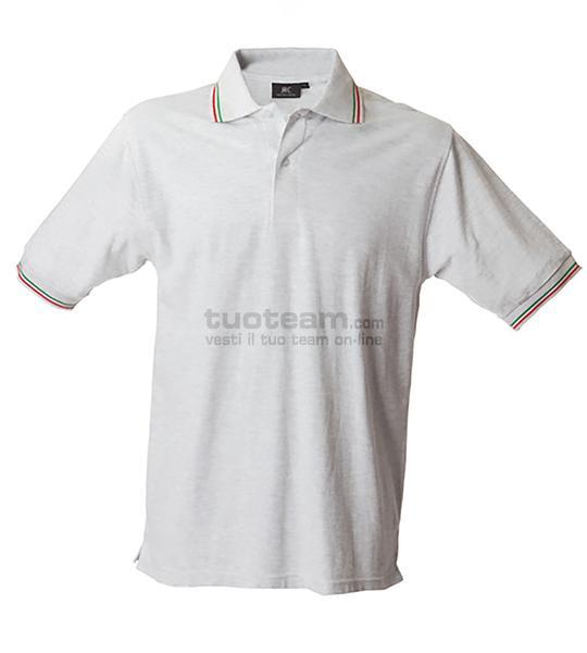 98844 - Polo Aosta Man - BIANCO