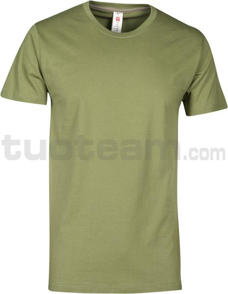 SUNSET - T-SHIRT SUNSET - VERDE ARMY