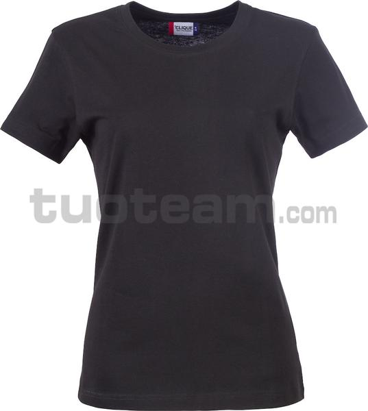 029031 - Basic-T T-SHIRT Lady - 99 nero