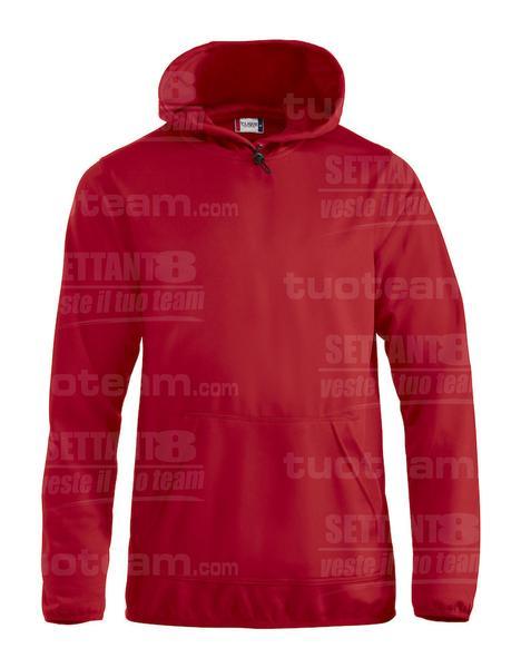 021054 - FELPA Danville - 35 rosso
