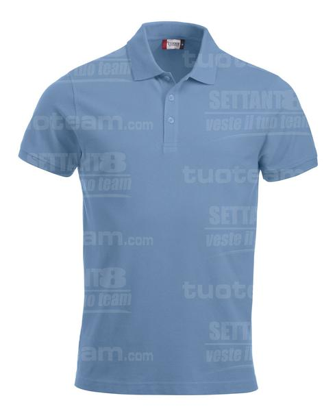 028244 - POLO New Classic Lincoln S/S - 57 azzurro