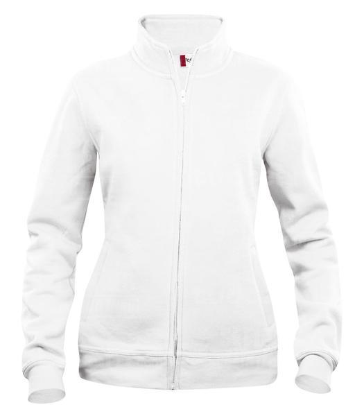 021039 - FELPA Basic Cardigan Lady - 00 bianco