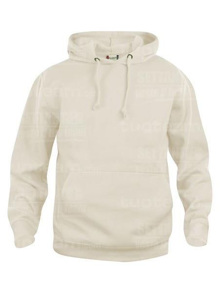 021031 - FELPA Basic Hoody - 815 beige