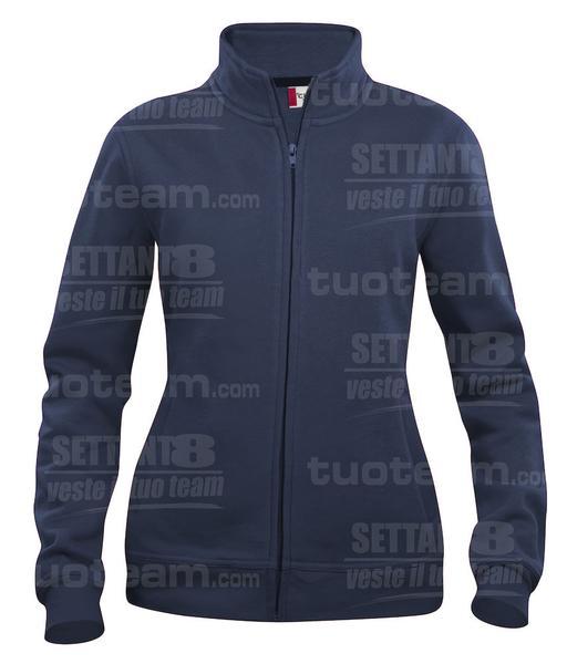 021039 - FELPA Basic Cardigan Lady - 580 blu