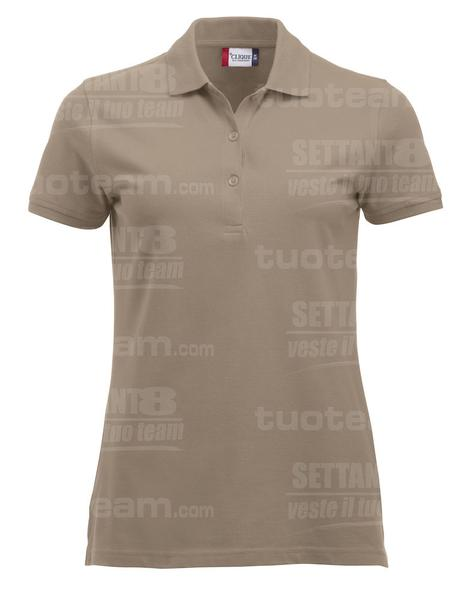 028246 - POLO New Classic Marion S/S - 820 caffe latte
