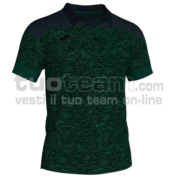 101282 - WINNER II POLO WINNER II MC 65% polyester 35% cotton - 425 VERDE/NERO