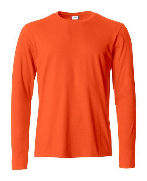 029033 - Basic-T L/S - 18 arancione