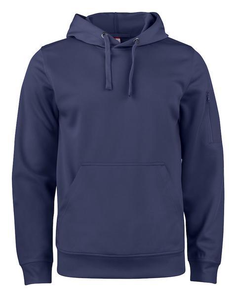 021011 - Basic Active Hoody - 580 blu navy