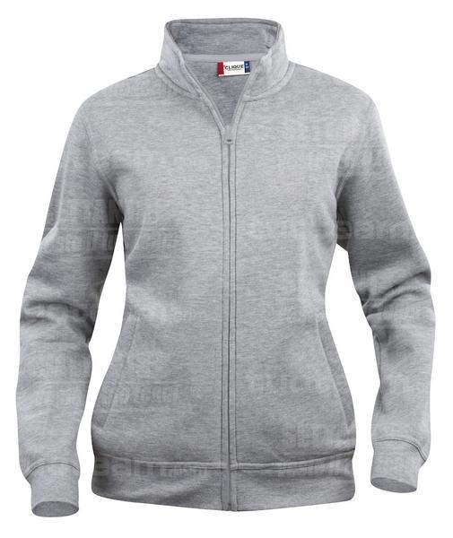 021039 - FELPA Basic Cardigan Lady - 95 grigio melange