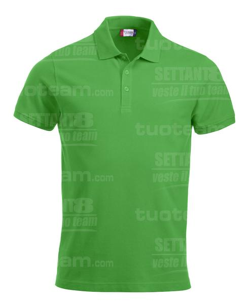 028244 - POLO New Classic Lincoln S/S - 605 verde acido