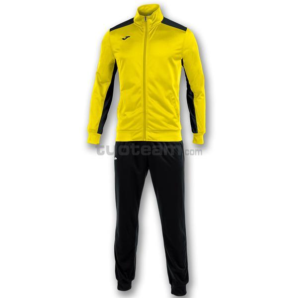 101096 - ACADEMY TUTA 100% polyester tricot - 901 GIALLO / NERO