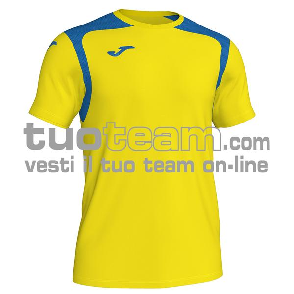 101264 - CHAMPIONSHIP V MAGLIA MC 100% polyester interlock - 907 GIALLO / ROYAL