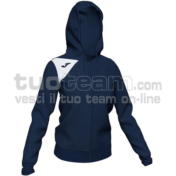 900869 - GIACCA SPIKE II 90% polyester fleece 10% elastan - 332 DARK NAVY / BIANCO