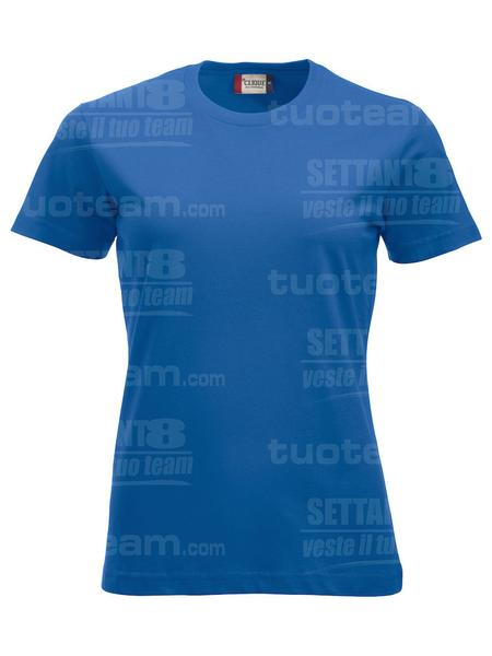 029361 - T-SHIRT New Classic T Lady - 55 royal