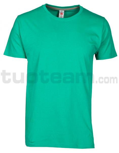 SUNSET - T-SHIRT SUNSET - EMERALD GREEN